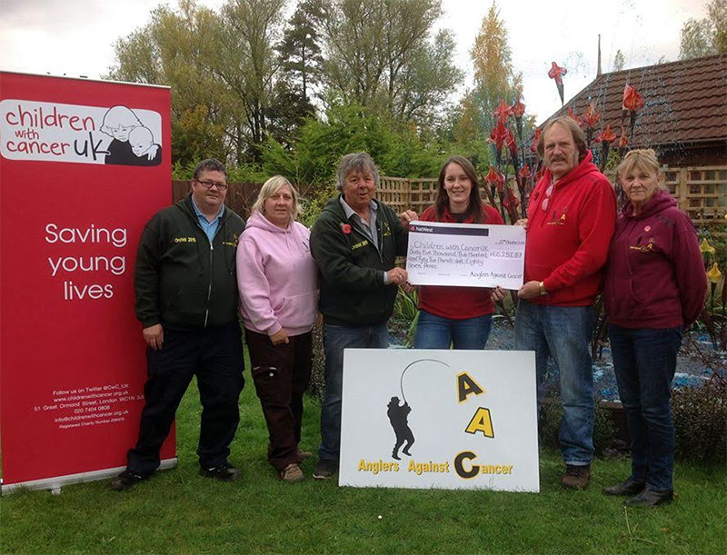 Anglers Against Cancer and Children with Cancer UK